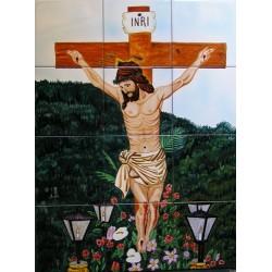 Cristo crucificado 45x60