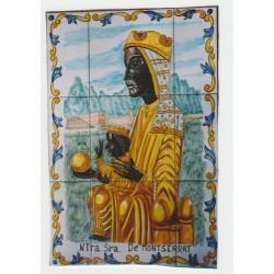 Virgen de Montserrat 45x60