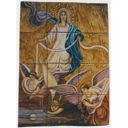 Virgen de la cinta 45x60
