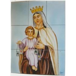 Virgen del Carmen 45x60