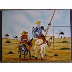 Don Quijote y Sancho Medida...