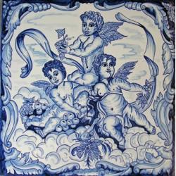 Mural angeles Medida 40x40