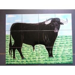 Toro número 3 Medida 45x60