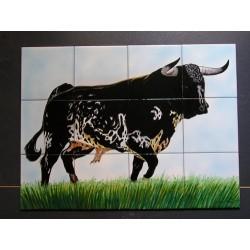 Toro número 4 Medida 45x60