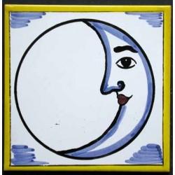 Azulejo luna Medida 15x15