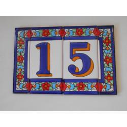 NÚMEROS INDICATIVOS 7,5X15