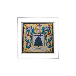 Heraldica con pieza de...