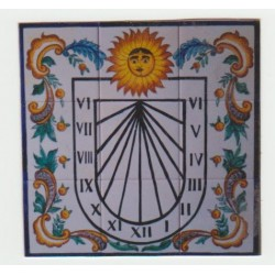 Reloj de sol Ref. 21 medida...