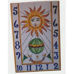 Reloj de sol 40x60 medida...